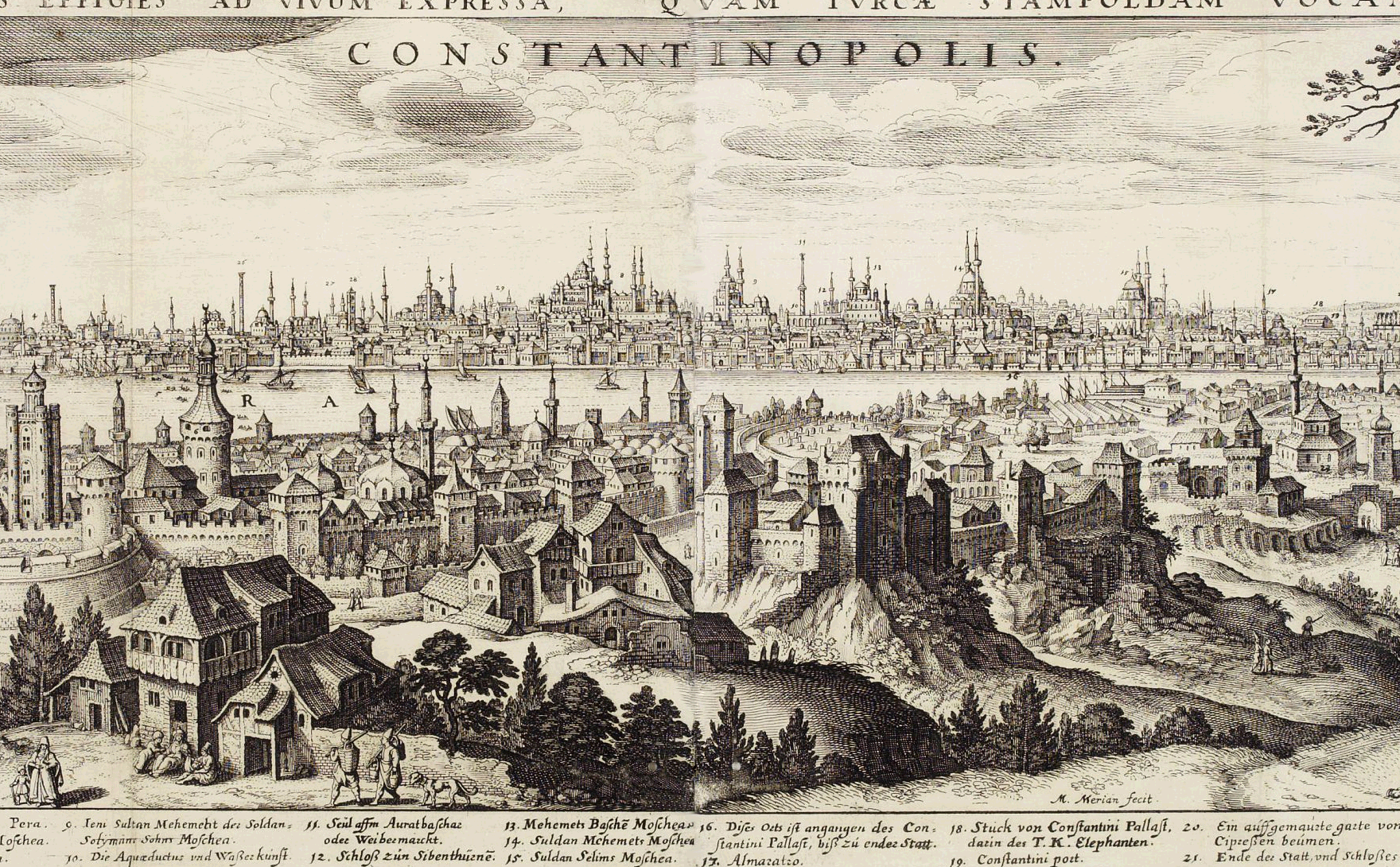 Constantinople in the 17th century.